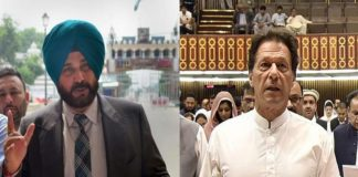 Imran Khan and Sidhu