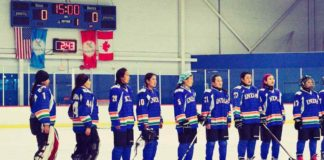 india's women's ice hockey team