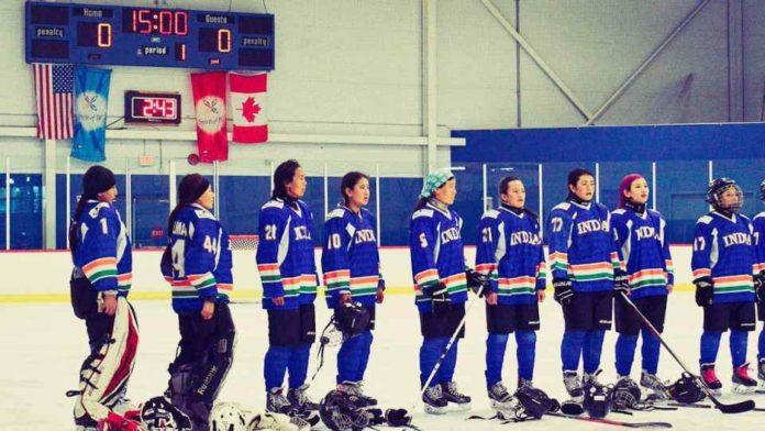 india's women's ice hockey team