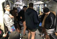 International transportation trend of 2019: 'No Pants Subway Ride'