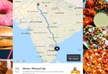 Food delivery from Chennai to Rajasthan