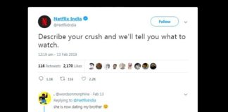 Netflix Recommendations based on crush