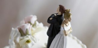Newlyweds get divorced in three minutes after marriage