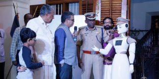 robot Cop in Kerala