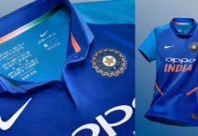 Indian jersey 2019