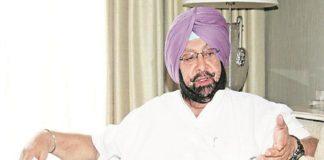 Captain Amarinder Singh Sick