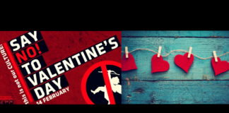 No valentines day in Pak university