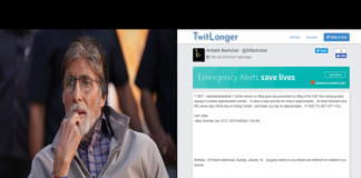 Tumbler Calls Amitabh Bachchan's Post 'Objectionable'